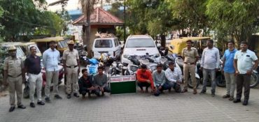 Rental vehicles selling Fraudster gang busted by Yeshwanthpura police 5 held, Vehicles worth Rs.32 lakhs Recovered: