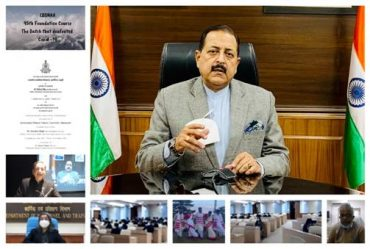 Union Minister Dr Jitendra Singh addresses the Valedictory Function of 95th Foundation Course at Lal Bahadur Shastri National Academy of Administration.