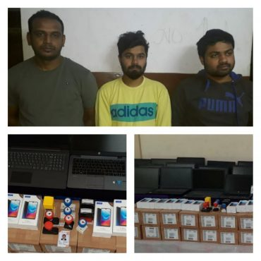 Instant Loan App Racket busted by CCB,Trio-held  over Harrassment on instant loan app, Laptop's Mobile seized.
