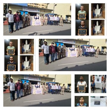 Four Notorious Drug peddlers arrested by Sudduguntepalya police,214 kg Ganja,600 grams Opium drugs worth Rs.73 Lakhs Recovered: