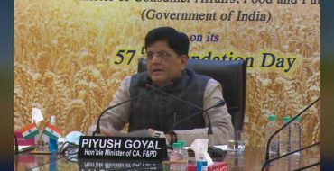 Union Minister Shri Piyush Goyal's address to Food Corporation of India (FCI) on 57th Foundation Day