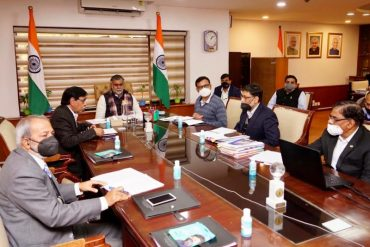 Shri Prahlad Singh Patel Chairs a meeting of the General Body of National Council for Hotel Management and Catering Technology