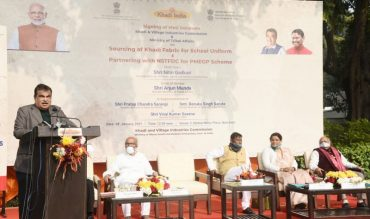 KVIC signs MOUs with Ministry of Tribal Affairs aimed at creating local employment, strengthen Khadi artisans and the tribal population