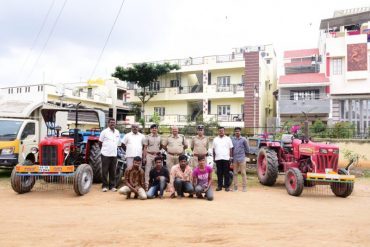 Four vehicle lifters arrested by Bagalagunte police stolen vehicles worth Rs.12 Lakhs recovered: