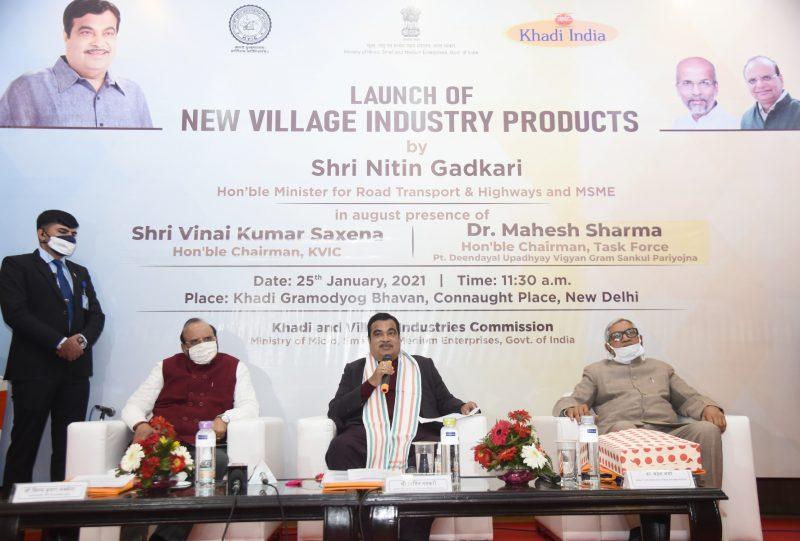 Gadkari calls for exploring new marketing avenues and export potential of MSMEs