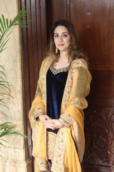 "Famous Punjabi Singer Megha Chopra Spotted In Delhi for the promotions Of Her upcoming Song "" Lohri Aundi Lohri"""