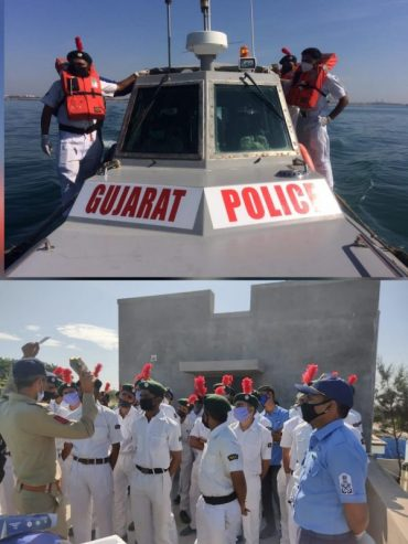 CADETS OF NCC DIRECTORATE GUJARAT PARTICIPATE IN 2ND EDITION OF LARGEST COASTAL DEFENCE EXERCISE – SEA VIGIL