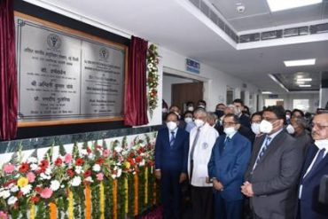 """Dr. Harsh Vardhan dedicates the new Burns and Plastic Surgery Block of AIIMS Delhi to Sushruta,""""The Father of Plastic Surgery"""""""