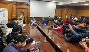 The First meeting of Committee on Farm Laws appointed by Supreme Court held in New Delhi