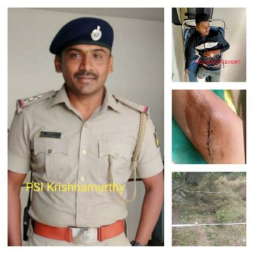 Notorious habitual offender Naveen arrested after shootout in Bengaluru: