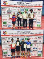 Khushi, Shlok triumph in State TT Championships 2020 IN GUJARAT