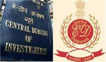 CBI arrested 2,including ED staff,for demanding 2 Crore rupees bribe to close the case :