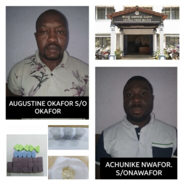 Two Nigerian National arrested Synthetic Drugs worth Rs.5 Lakhs seized: