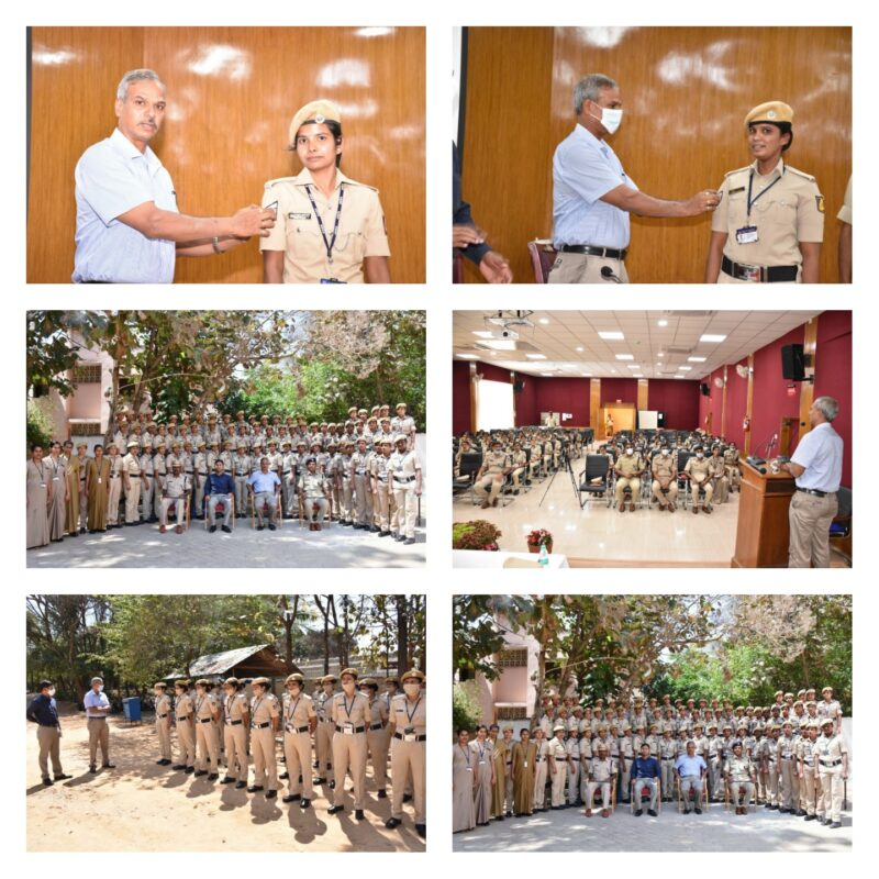 Two women Reserve constables promoted within three years of their service;