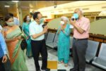 Dr. Harsh Vardhan and Smt. Nutan Goel receives their second dose of COVID-19 Vaccine