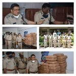 Inter-state drug racket busted,three notorious Peddlers arrested,500kg Marijuana Worth Rs.1 Crore Seized: