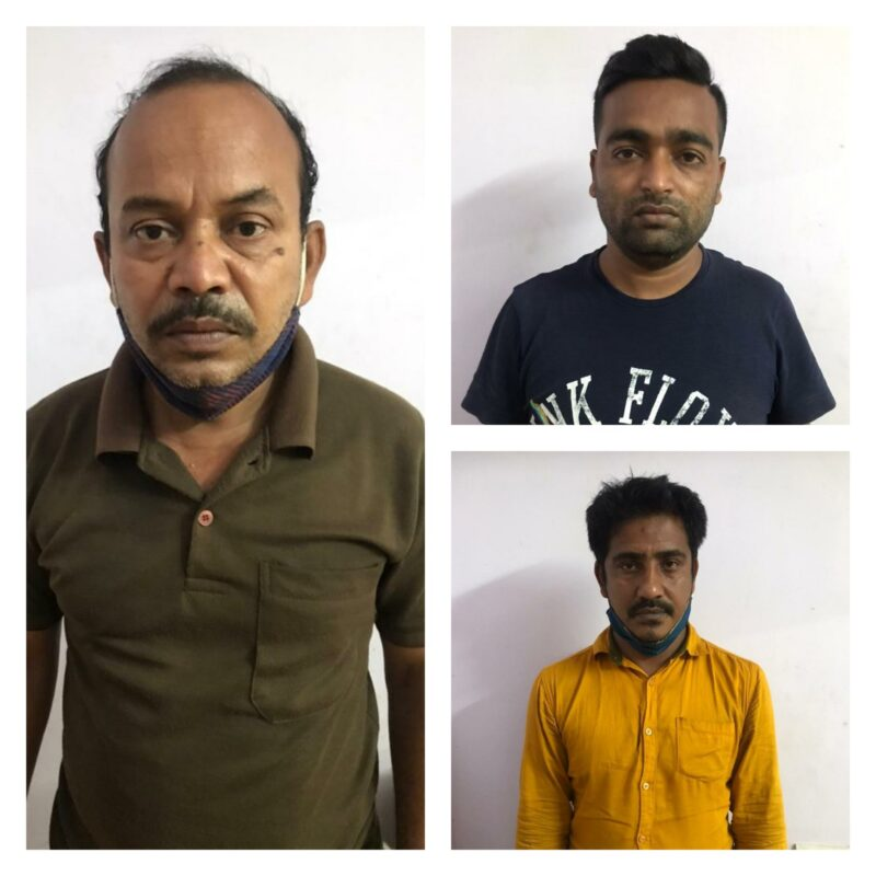 Trio held,Illegal women trafficking and prostitution racket busted by CCB,two women rescued: