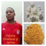 Nigerian National drug peddler arrested by Govindapura police seized synthetic Drugs worth Rs.2.6 lakhs .