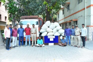 Two Inter-state Drug peddlers arrested by Koramangala police 141 Kg Marijuana Worth Rs.84.6 lakhs Seized.
