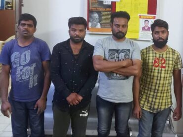 Four arrested by Bharati Nagar police for attacking and robbing beef merchant recovered Rs.4 lakhs :