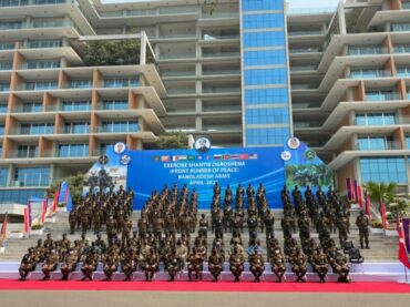 Opening Ceremony of Multinational Military Exercise SHANTIR OGROSHENA 2021