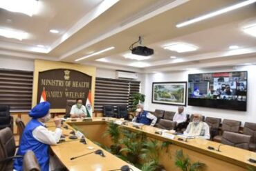 Dr Harsh Vardhan chairs 24thmeeting of Group of Ministers (GOM) on COVID-19