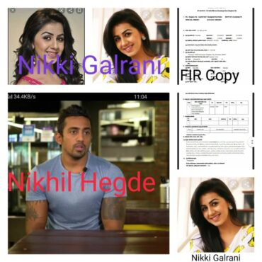 Cafe owner booked for cheating Film actor Nikki Galrani :