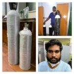 Duo arrested by CCB involved in black marketing of Oxygen cylinders 5 cylinders seized: