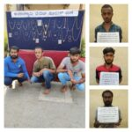 Trio Notorious Habitual HBT Offenders arrested,Stolen gold ornaments Worth Rs.44.5 Lakhs Recovered