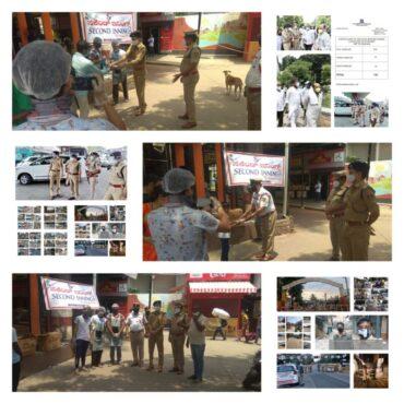 Karnataka HM,Basavaraj Bommai directs police to show restraint in enforcing COVID restrictions.
