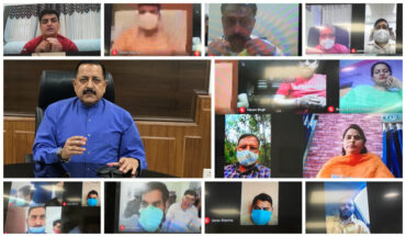 Union Minister Dr. Jitendra Singh says, Community Management of COVID is equally important along with medical and administrative measures