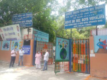 पत्रकारों व उनके परिजनों के लिए टीकाकरण केंद्र बनाया गया