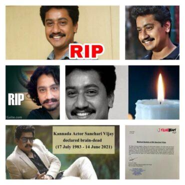Kannada actor Sanchari Vijay dies,family decides to donate organs