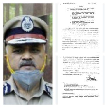 DGP Praveen Sood,issue directions to DCP and SPS to take action against noise pollution