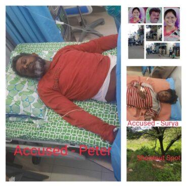 Sensational murder case of Former BJP corporator Rekha Kadiresh cracked within 24 hours,Two arrested after shot at on their leg