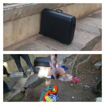 Abandoned suitcase creates tension for some time among walkers in Malleswaram