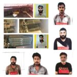 Bengaluru ATC,arrested 5 Unearths totally,3000 SimCards and 109 SIM Boxes Installed by Illegal Telephone Exchange Operators seized