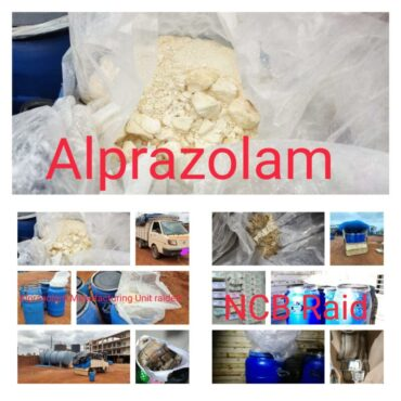 Five held including kingpin of chemical expert arrested,Alprazolam manufacturing Unit and trafficking network busted by NCB Bangalore,seizes contraband worth Rs 2 crore
