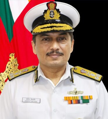 Vice Admiral Sandeep Naithani, AVSM, VSM, assumes charge as theChief of Materiel