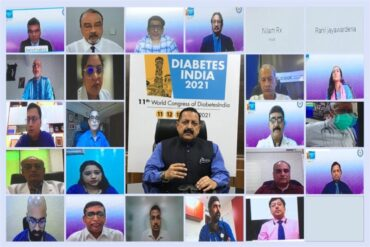 Union Minister & a renowned Diabetologist Dr Jitendra Singh called for Public Awareness Campaigns about the co-relation between Diabetes and COVID