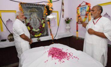 PM pays tribute to Sant Kabir Das ji on his Jayanti