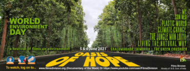 Films Division presents Oasis of Hope, an online festival to mark World Environment Day