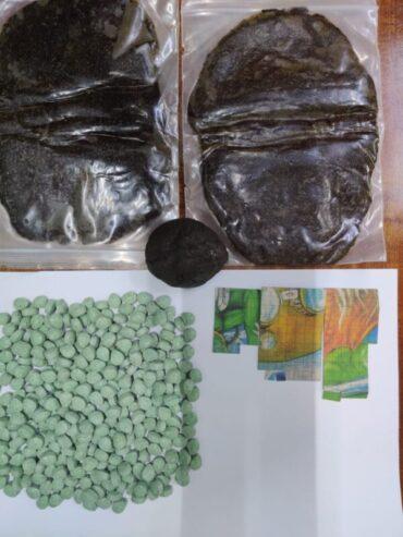 Five Notorious Drug Peddlers arrested,DARKWEB procured drug haul Busted Drugs worth Rs.30 Lakhs Seized