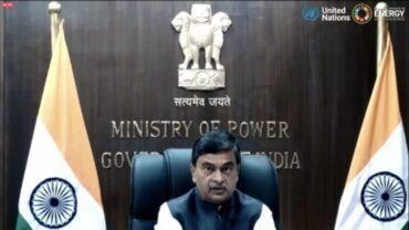 """Shri R.K. Singh, Minister of State (I/C) for Power and New & Renewable Energy launches """"The India Story"""" booklet on Indian initiatives shaping energy transition"""