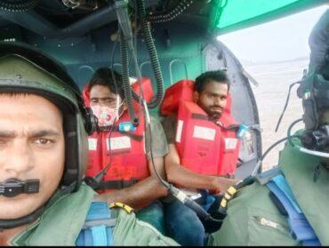 Indian Coast Guard rescues all 16 crew of sinking MV Mangalam near Revdanda port of Maharashtra