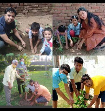 """पर्यावरण दिवस पर सीएसडीआर फाउंडेशन ने दिया """" पेड़ लगाएं, खुद को बचाएं"""" का नारा"""