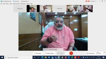 Union Minister for Fisheries, Animal Husbandry & Dairying, Shri Giriraj Singh chairs a virtual program on the occasion of World Milk Day