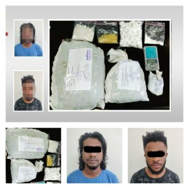 Online Drug trafficking racket busted Foreign National including 10 college students arrested for peddling drugs,Synthetic Drugs Seized.