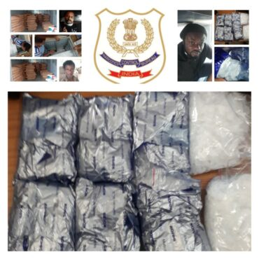 Two Major operation by NCB Chennai,Over 300 kg of ganja seized,Nigerian drug kingpin from train in Coimbatore arrested