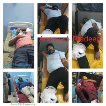 Dreaded Rowdies,Murder accused nabbed within 48 hours after shootout by Koramangala police